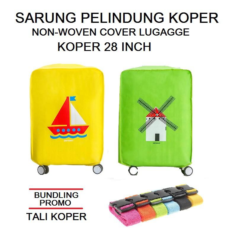 [Bayar Di Tempat]Cover/Pelindung Tas Koper/Travel Anti Debu/Gores untuk Unisex   Shopee Indonesia