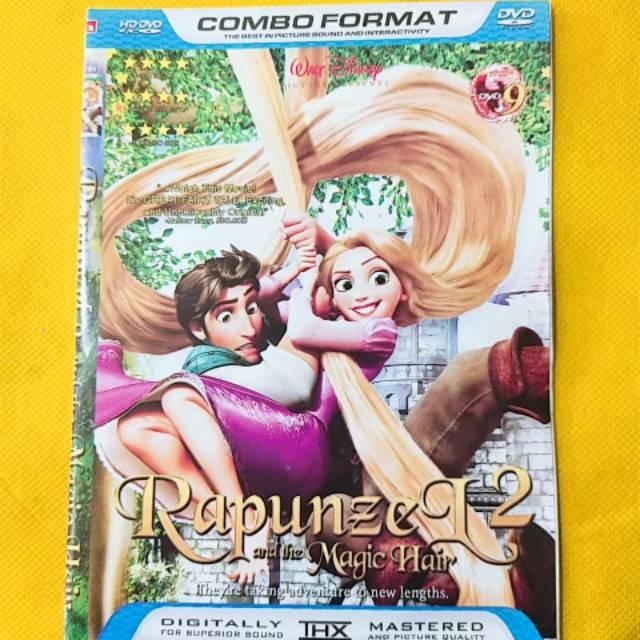 New Kaset Film Kartun Anak Terbaru Rapunzel 2 And The Magic Hair Shopee Indonesia