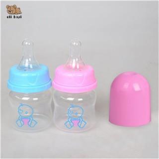 Baby Mini Portable Feeding Pet Bottles Newborn Safe Nursing Care Feeder Fruit Juice Milk Bottles