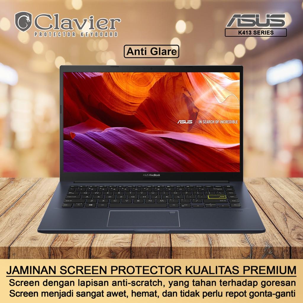 Screen Protector Anti Gores Asus VivoBook 14 K413 K413E K413EA K413EQ Clear Bening Anti Glare Minyak