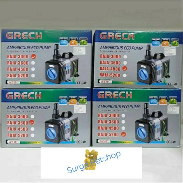 Pompa air SUNSUN GRECH Submersible Pump Raja 5200 ...