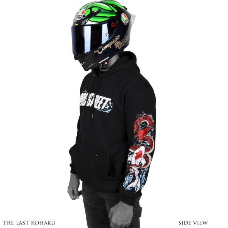 HOODIE PROSTREET THE LAST KOHAKU V3 NEW ORIGINAL | NOT BLOOD FLOWER | NOT ORIENTAL (ART. 8821)