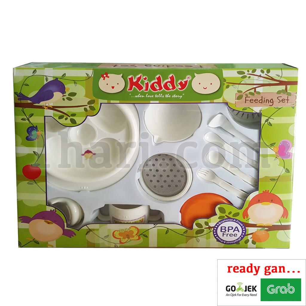 Kiddy Feeding Set Dan Multifunction Food Maker Alat Makan Bayi Tempat Mpasi Shopee Indonesia