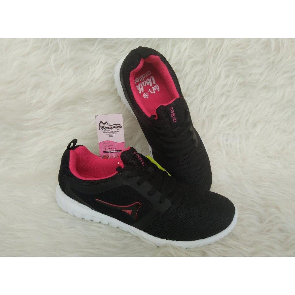 Sepatu Sneakers Wanita Ardiles Wrg Karen Original Running Estelle Women Shoes Hitam 38 Shopee Indonesia