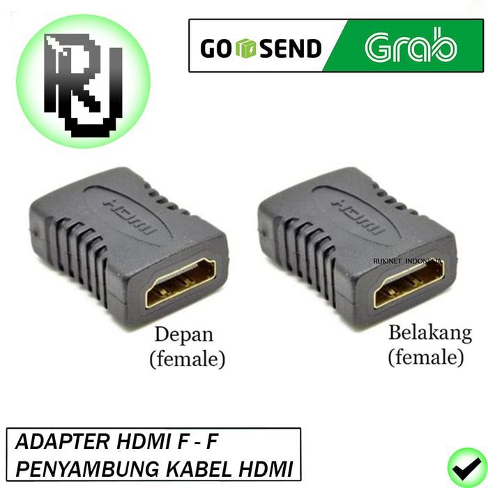 Gender HDMI Female-Female F-F Konektor Penyambung Connector MAGNUM | Shopee Indonesia