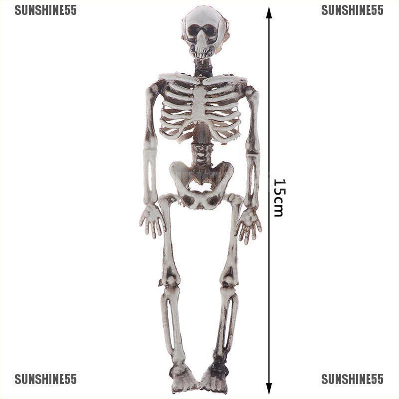 40CM Full Life Size Human Skeleton Halloween Decoration Party Prop Nice