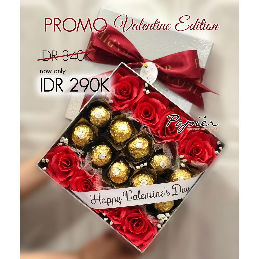 Promo Coklat Valentine Bunga Valentine Bunga Mawar Shopee Indonesia