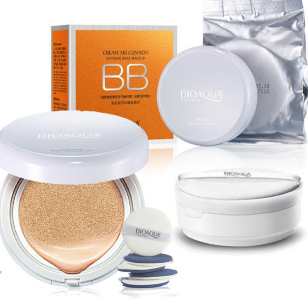 Bioaqua Cream Air Cushion Extreme Bare Make Up Bb Spf 50