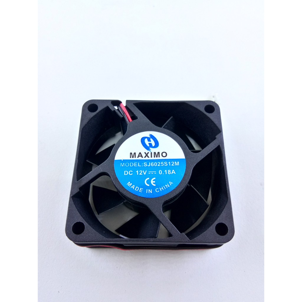Fan Dc 6cm 6 X Cm Kipas Shopee Indonesia Pendingin 8025