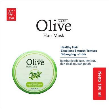 SYB CO.E Olive Hair Treatment - Shampoo Conditioner Tonic Black Kemiri Oil Mask Serum Kids-5