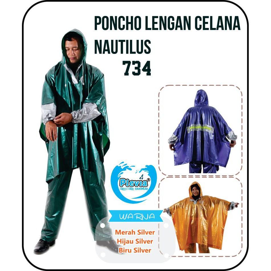 Jas Hujan Poncho Celana Tip Toc Rain City 69121 Motor Coat Ekslusif 68214 Tiger Head Biru Shopee Indonesia