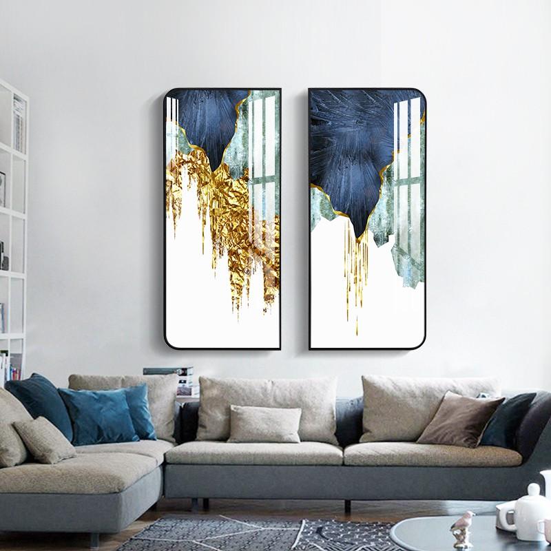 Mks Lukisan Abstrak Modern Minimalis