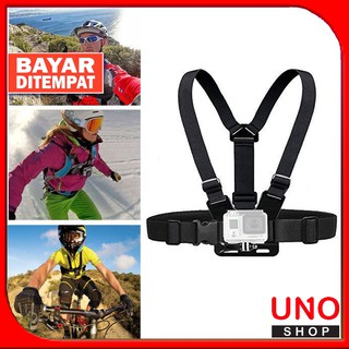 Gopro Adjustable Chest Body Harness Belt Strap Mount For Camera Action