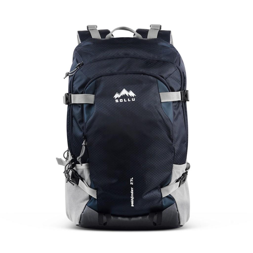 Tas Ransel , Backpack Outdoor Traveller Navy Series