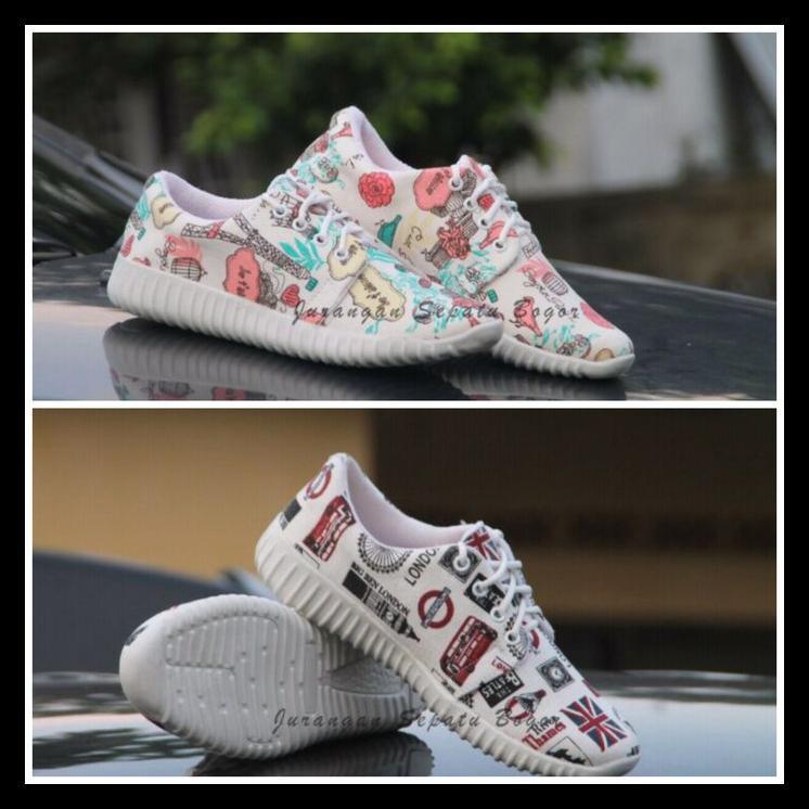 Sepatu Kets Sneakers Paris Bisa Ibu Dan Anak Xxxx Shopee Indonesia