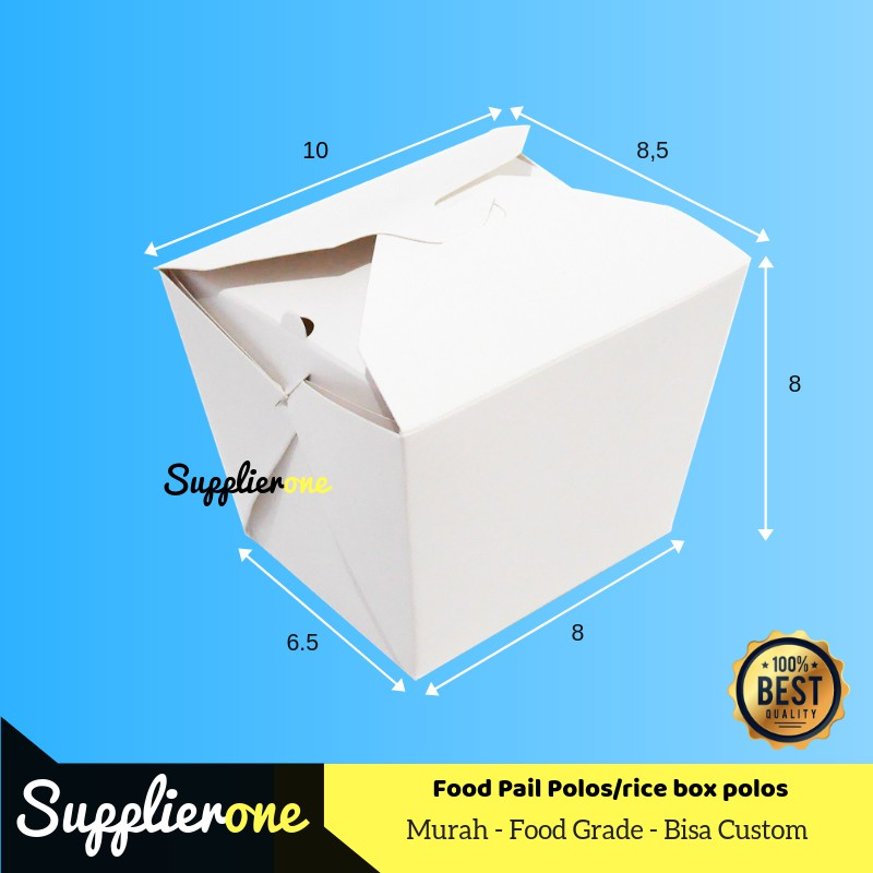 Kemasan Rice Box Food Pail Box Foodpail Kemasan Food Pail Food
