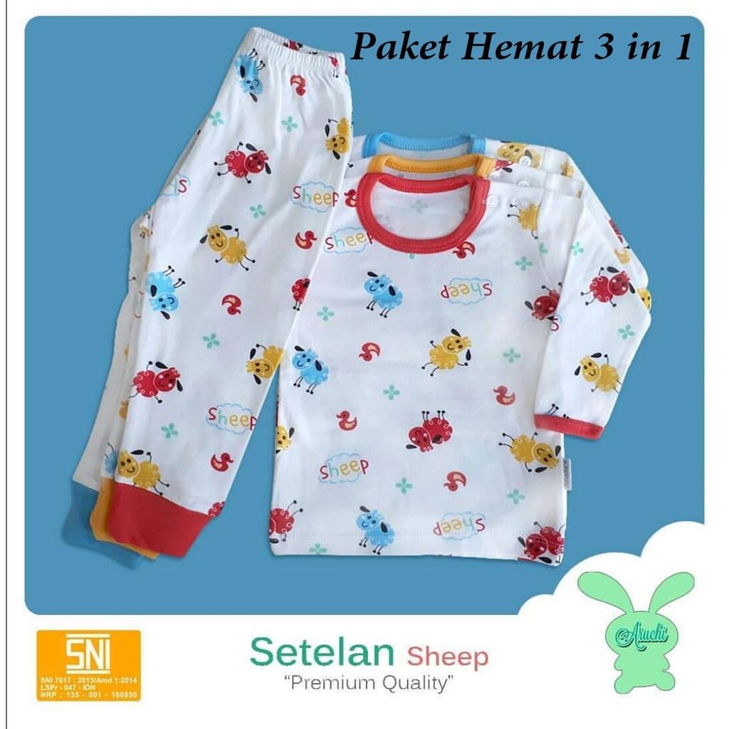 Spy02 Setelan Baju Panjang Bayi Motif Giraffe Jerapah Salur Piyama Spy46 Newborn Poppy Tidur Shopee Indonesia