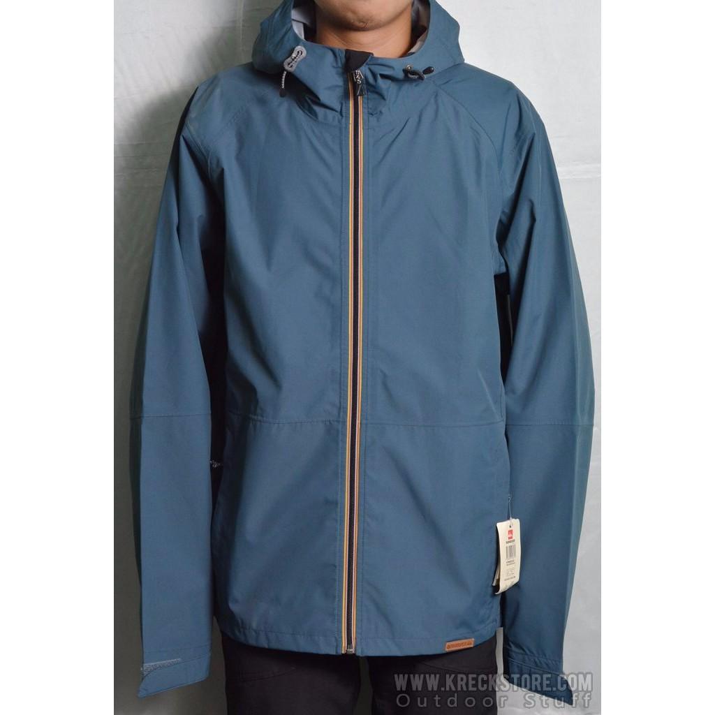 7e59fca62 Quiksilver technical 3L Waterproof Rain Jaket Original Hiking Gunung