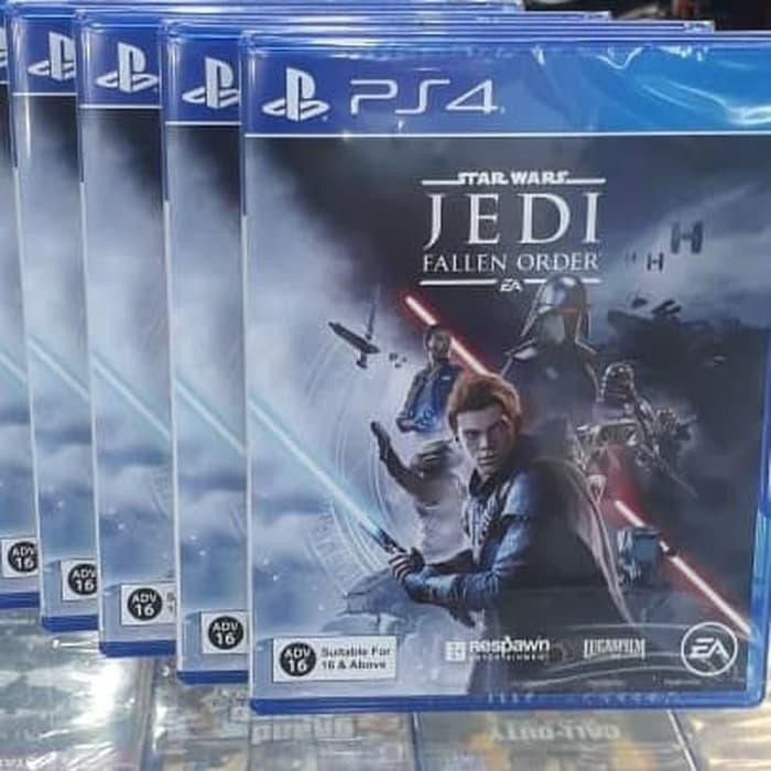 Cd Game Star Wars Jedi Fallen Oder Ps4 Shopee Indonesia