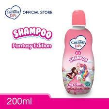 ORIGINAL Cussons Kids Shampoo 200ml & 100ml BPOM / Cussons Shampoo Anak / LEDI MART-Shampoo Pink 200ml