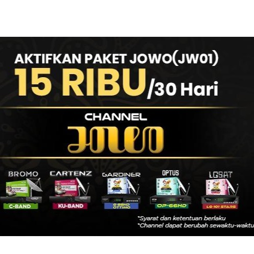 Paket Jowo K Vision Bromo Cartenz dan GOL Murah