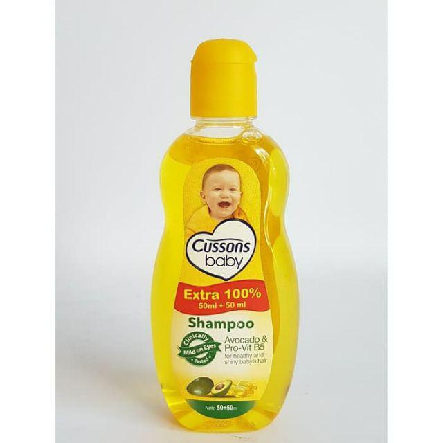 Cussons Baby Shampoo extarfill 50ml-Avocado