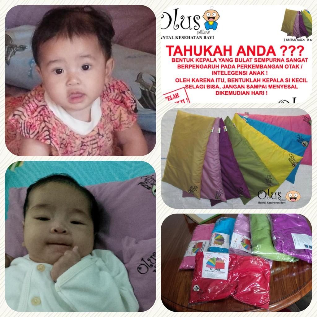 Bantal Kesehatan Bayi Anti Peyang Shopee Indonesia Sarung Olus Pillow