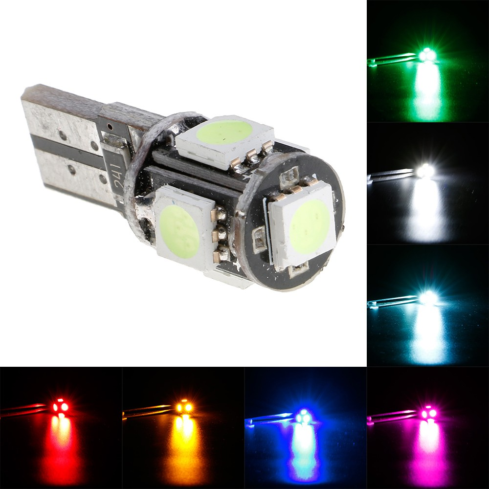 Led Auto Lights >> Bayar Di Tempat T10 Led Canbus Auto Lights Side Replacement Bulbs Lamp
