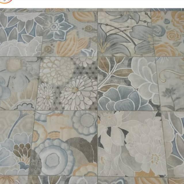 Keramik Lantai Keramik Motif Keramik Vintage Shopee Indonesia