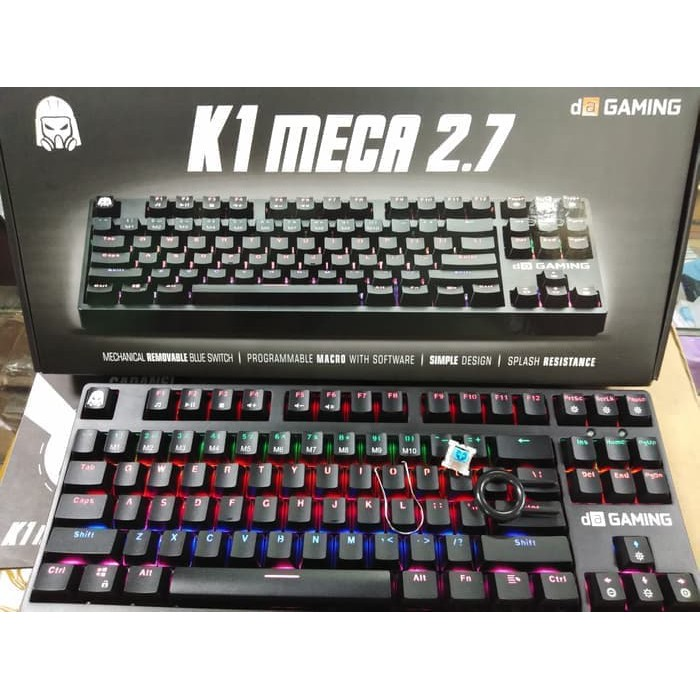 b2e443ce911 Digital Alliance K1 Meca TKL 2.7 Edition Keyboard Gaming | Shopee Indonesia