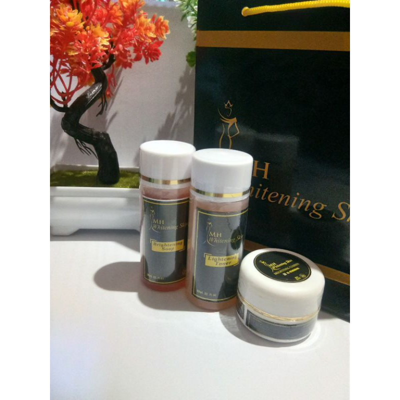 CREAM MH whitening Skin kemasan BPOM