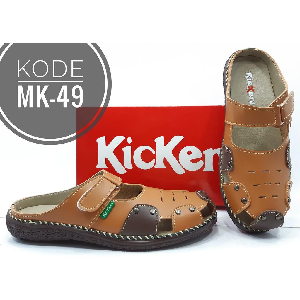 Harga kejutan Sepatu Sandal Kickers Wanita MK-49 TAN price checker ... 3678a4fa2e