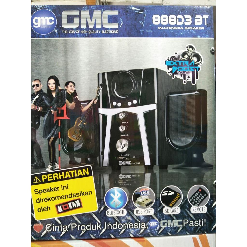 Gmc Speaker Aktif 888 D1 Hitam Daftar Harga Terbaru Dan Terlengkap