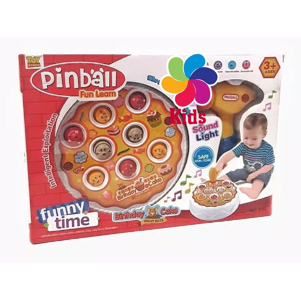Pinball Birthday Cake Fight Shopee Indonesia