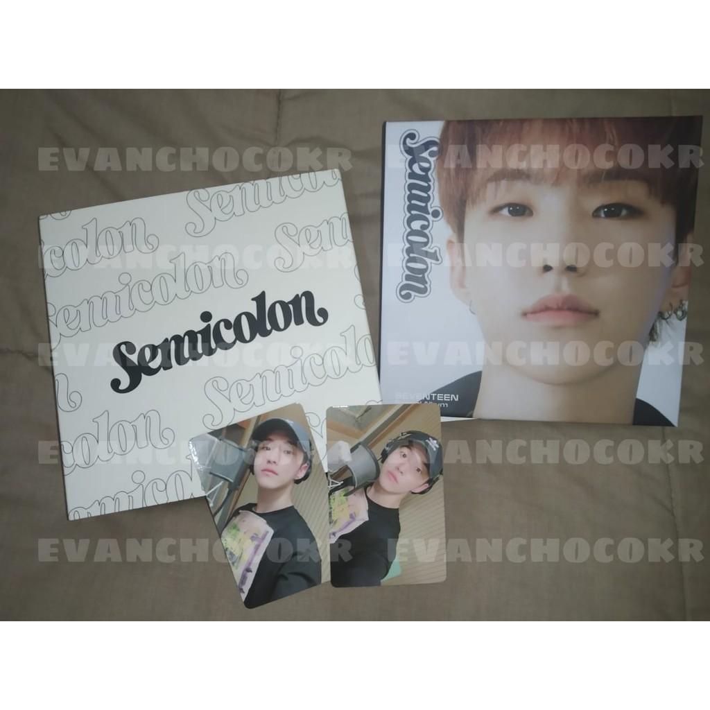 Album SEVENTEEN - Semicolon ; Hoshi set (unsealed)  / Photocard Hoshi benefit Yes24