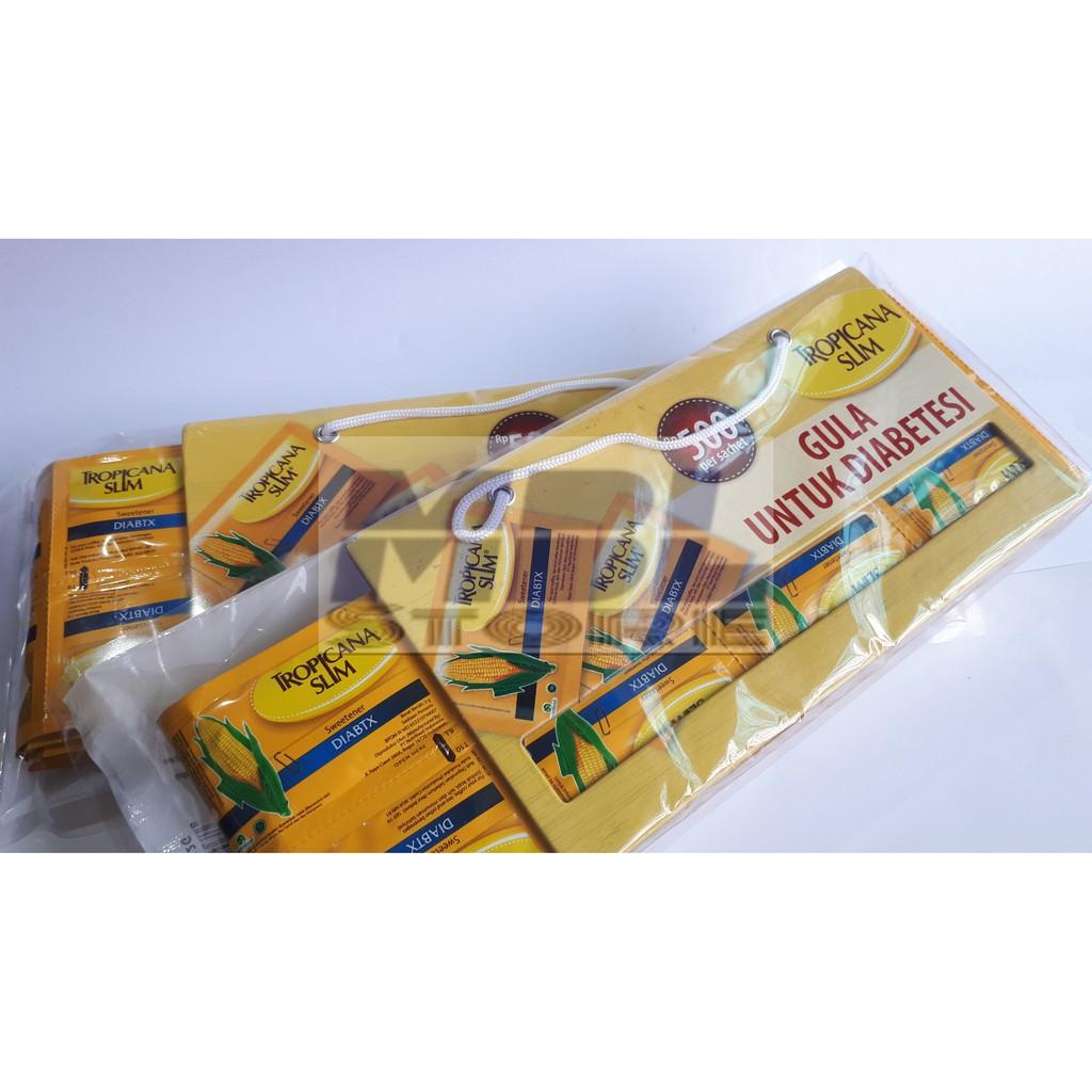 Gula Rendah Kalori Tropicana Slim Sweetener Jawa 350 Shopee Diabtx Indonesia