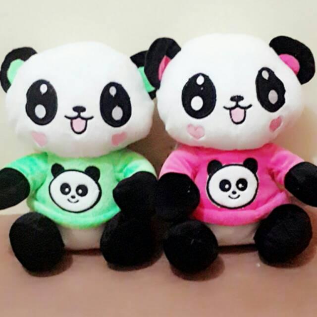 Boneka Panda Couple Shopee Indonesia
