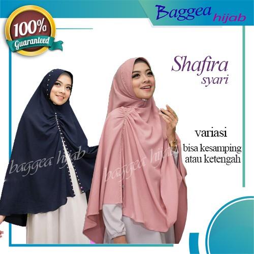 Hijab Jilbab Kerudung Syari Modern Modis Model Terbaru Shafira Instan Cantik Kekinian Style Simple Shopee Indonesia