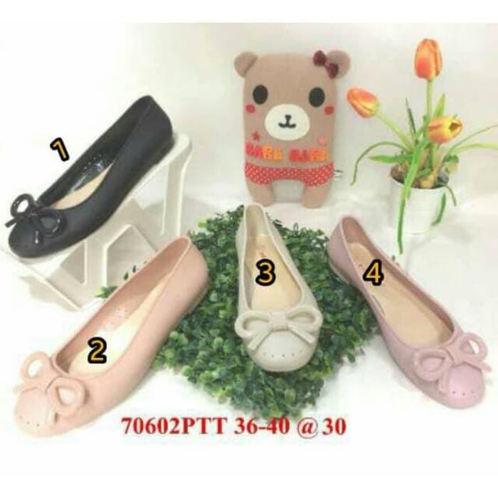 Lucu Jelly Shoes Bara Bara Flat Shoes Jellyshoes Sepatu Wanita 70602Ptt Berkualitas   Shopee Indonesia