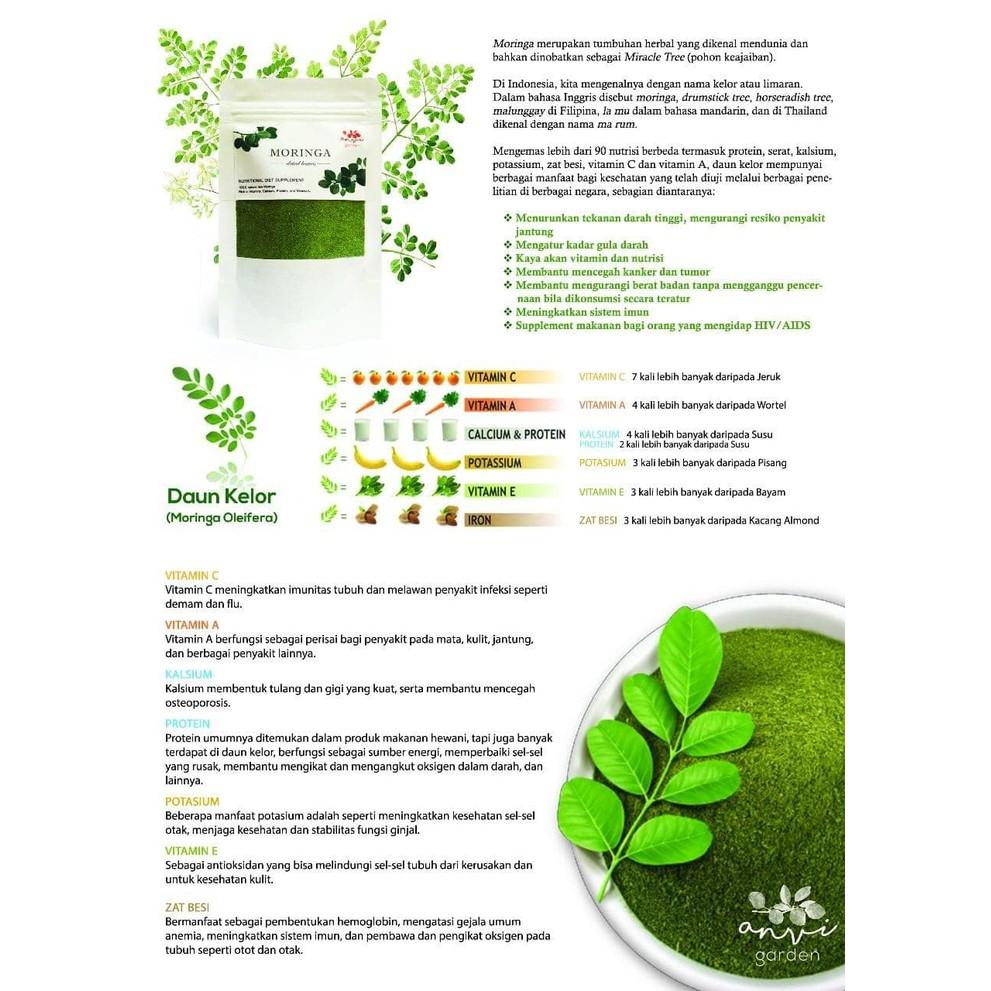 manfaat daun kelor untuk tratamiento de la diabetes