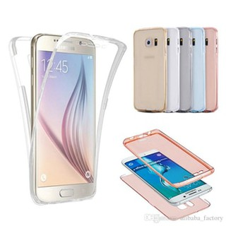 SOFTCASE 360 BENING SAMSUNG A7 2017 / A720 CASING FULLBODY SILIKON CASE.