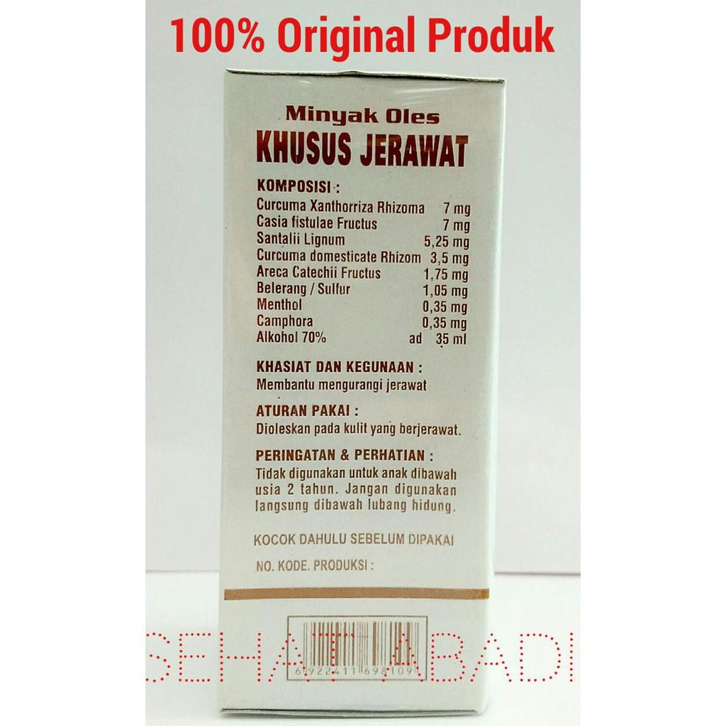 Original Minyak Obat Oles Khusus Jerawat Cap Wayang Shopee Indonesia 35ml