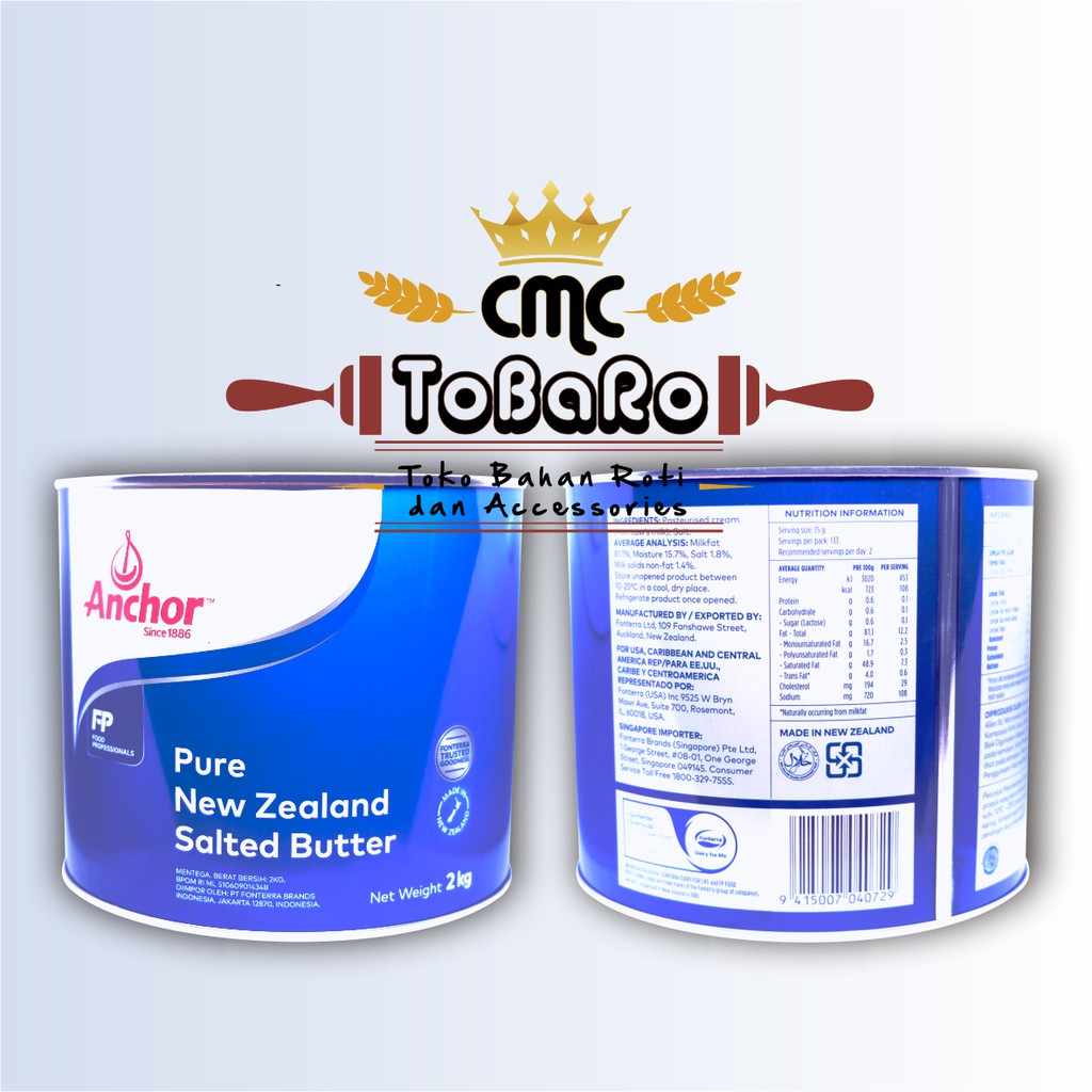 Anchor Tinned Butter 2kg || Anchor || Anchor Butter
