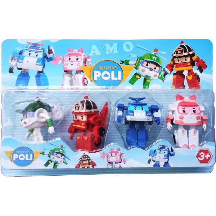 ROBOCAR POLI SET ISI 4 PCS   MAINAN ANAK ...