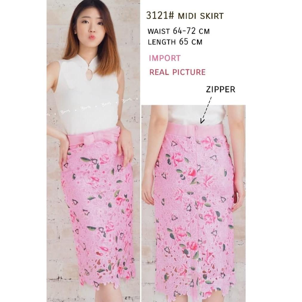 306c3531c8 midi skirt pink - Temukan Harga dan Penawaran Rok Online Terbaik - Pakaian  Wanita Januari 2019 | Shopee Indonesia