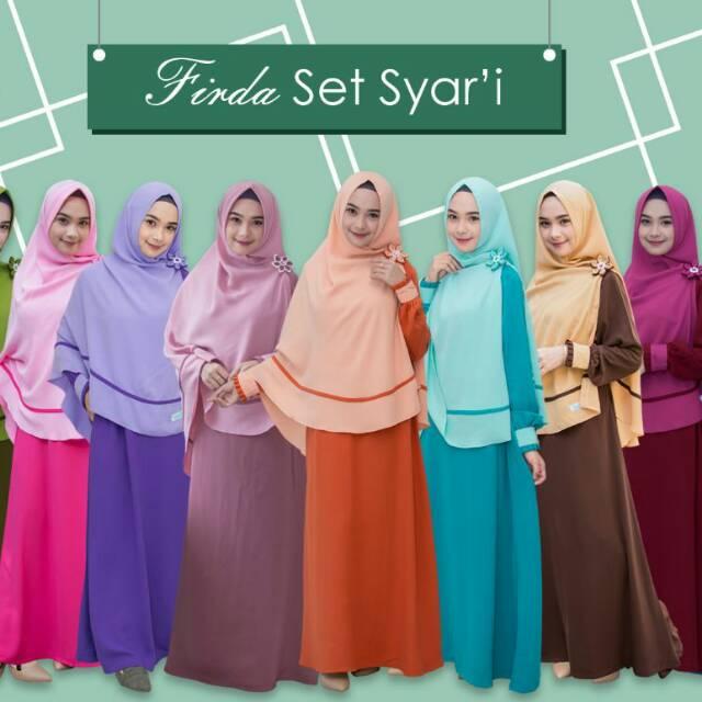 Gamis Firda Set Syar I By Swarga Hijab Shopee Indonesia