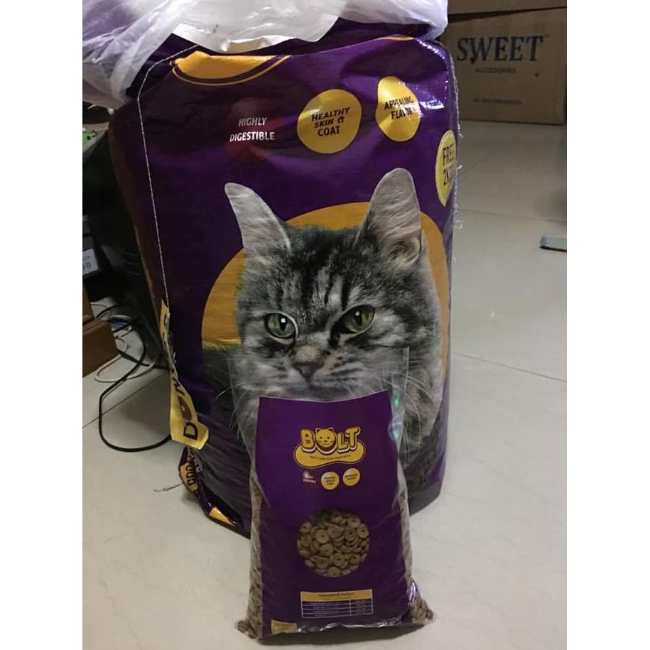 Top93 Makanan Kucing Bolt Repack 1kg Termurah Star Shopee