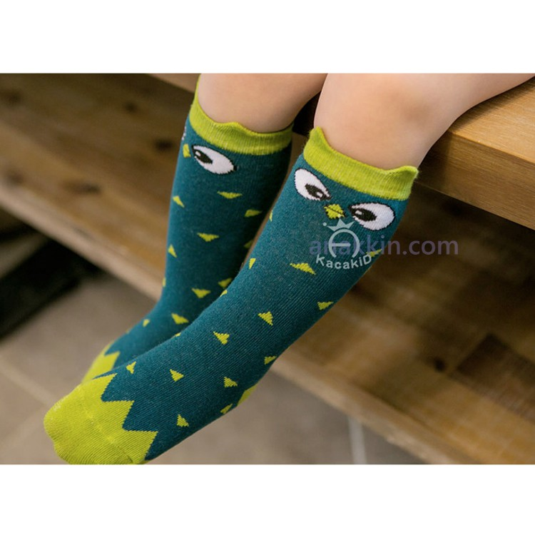 Kacakid Anti-Slip High Socks / Bird / kaos kaki anak / kaos kaki murah