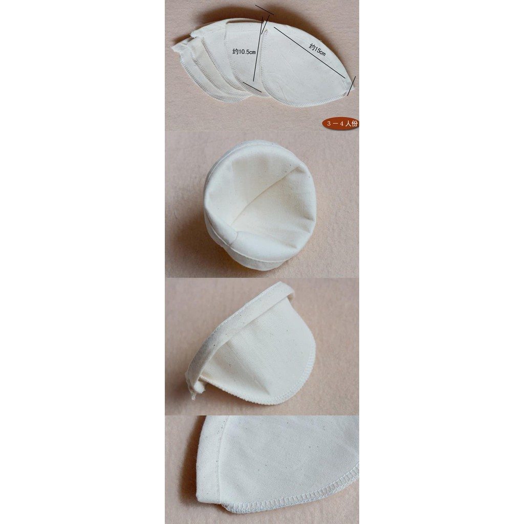 saringan kain (teh, kopi, susu, kedelai, almond) Murah Meriah |
