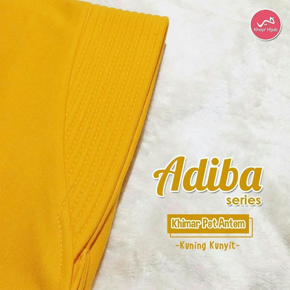 Adiba Kuning Kunyit Khayr Hijab Shopee Indonesia